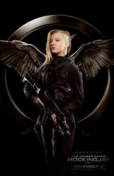 Hunger Games: Mockingjay - new character posters
