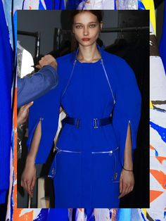 dion lee electric blue