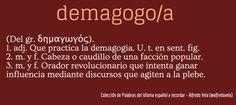 Demagogo/a