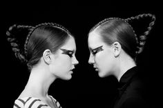 David Andersen SS13 Backstage - Photography by Amanda Hestehave