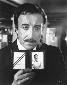 Peter Sellers in one of his many Pink panther movies