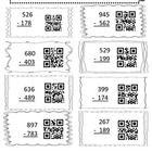 This QR Code math student practice page makes finding the solution a little more intriguing.  Students will solve three-digit subtraction problems ...