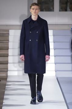 Jil Sander Fall 2013 Menswear Fashion Show Fashion Week, Fashion Art, Love Fashion, High Fashion, Winter Fashion, Fashion Show, Mens Fashion, Fashion Design, Milan Fashion