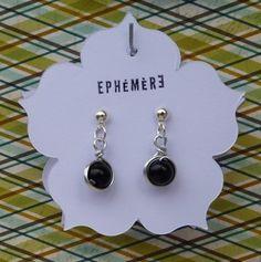 Boucles d'oreilles Fil aluminium perle créé par Rom