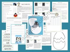Let's Read & Write About PENGUINS product from The-Literacy-Garden on TeachersNotebook.com