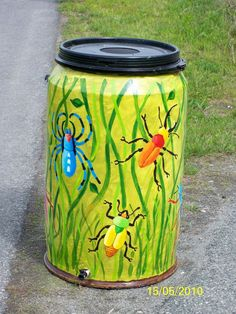 rain barrels | Rain Barrel Art