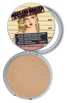 I hate the packaging!!! But I will put up with it for the beautiful highlighter inside. theBalm 'Mary-Lou Manizer®' Highlighting Powder | Nordstrom $24