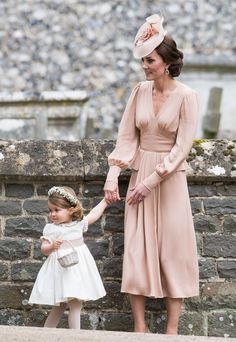 See What Kate Middleton, Prince George and Princess Charlotte, and All the Guests Wore to Pippa Middleton's Wedding Photos | W Magazine