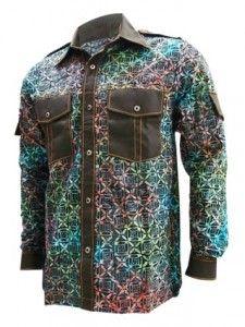 Ini dia Kemeja Batik Pria terbaru dari Medogh. Kode HM-1711 bernama Kemeja  Batik 919a70ff6e