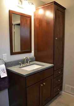 Custom Bathroom Vanities Queens Ny custom bathroom vanity cabinets without tops | bathroom cabinets