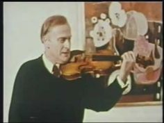 Great thing to watch when you have a good amount of time. -A. Yehudi Menuhin Violin Tutorials on YouTube