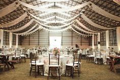 Country Barn Wedding meets City Chic