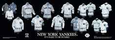 New York Yankees Uniform and Team History | Heritage Uniforms and Jerseys