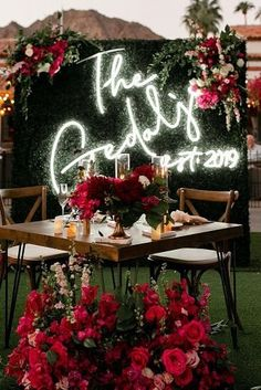 Wedding Ideas For Summer You'll Want To Use ★ wedding ideas for summer wedding reception neon sign