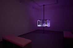 Richard Healy, Lubricants & Literature, 2016. Installation view. HD Video, 7'50'' looped. Tenderpixel.