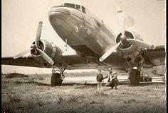 1950  Ellinikon airport greece olympic airways..