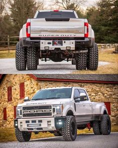 This one car is my dream ride. So cool #2015fordf154 Big Ford Trucks, Ford Truck Models, Dually Trucks, Cool Trucks, Camo Truck, 6x6 Truck, Country Trucks, Ford Diesel, Offroader