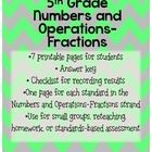 **If you are interested in ALL 5th grade math standards bundled together, look for my bundle in my store.  ALL FIVE standards for the price of THRE...