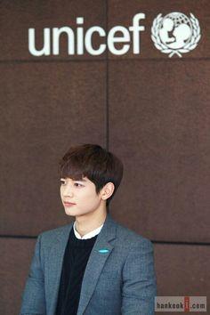 Choi Minho for Unicef Hero Campaign Ambassador