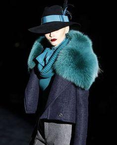 Love the Gucci fur Collar A/W 2011