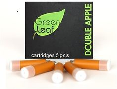 Double Apple Cartomizer-18mg High Nicotine, 5 cartomizers per pack