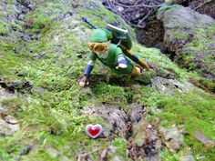 Figma Link, reaching the heart container