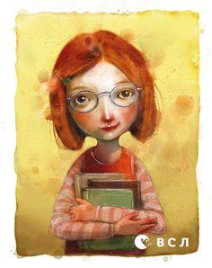 Ілюстрація Лізи Айсато до книжки «Дівчинка, яка рятувала книжки» Клауса Гаґерупа. © Lisa Aisato William Turner, Princess Zelda, Disney Princess, Gouache, Girl Crushes, Your Image, Videos, Illustration Art, Art Illustrations