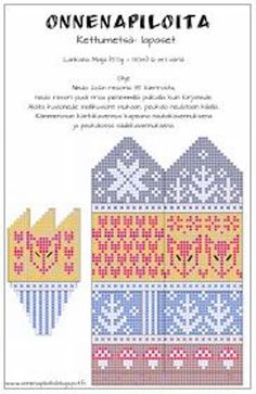 Easy Knitting Patterns for Beginners - How to Get Started Quickly? Knitted Mittens Pattern, Easy Knitting Patterns, Crochet Gloves, Knitting Charts, Knitting Socks, Knitting Projects, Knitted Hats, Fair Isle Chart, Scrappy Quilts