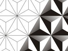 Blend logo design pattern by Alex Tass