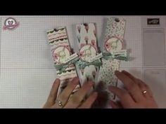 Tutorial: Schokololli-Verpackung mit Produkten von Stampin' Up! - YouTube