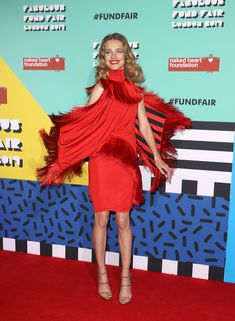 Natalia Vodianova attends The Naked Heart Foundation's London's Fabulous Fund Fair on February 21, 2017 in London, United Kingdom.