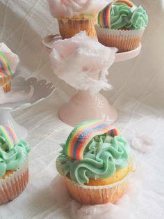 Rainbow cupackes Dr. Sugar