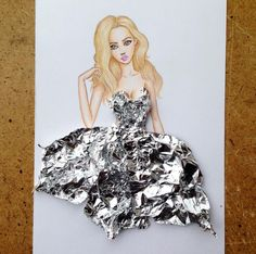 CULTURE N LIFESTYLE — Fashion Illustrator Creates Sensational Cut-Out...