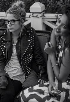 Ashley Benson and Shay Mitchell two beauties in one picture