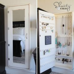 with instruction - Shanty2Chic DIY Jewelry Cabinet