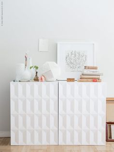 We continue sharing the coolest IKEA hacks ever! Today we've prepared the most stylish furniture hacks suitable for living rooms – sofas, chairs, ottomans . Ikea Expedit Shelf, Ikea Ivar Cabinet, Ikea Lack Shelves, Ikea Cabinets, Ikea Storage, Extra Storage, Living Room Hacks, Ikea Living Room, Ikea Design