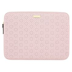 kate spade new york Perforated Sleeve for MacBook - Rose Quartz