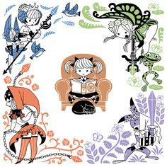 ahirucafe:  オーディンスフィア レイヴスラシル、早くプレイしたいです。http://atlus-vanillaware.jp/osl/