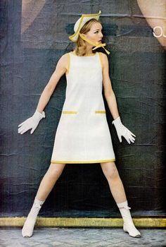 Sixties Courreges dress