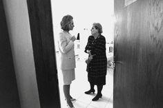 Madeleine Albright with Hillary Clinton (Vogue.com UK)