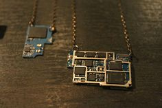 computer chip jewelry - Google Search