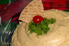 Low fat hummus - which is good since I'm addicted to it. I make mine with fat free ranch salad dressing and lemon juice and cumin.