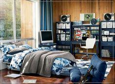 jugendzimmer für jungs-einrichtung beleuchtung-ideen | kevin ... - Teenager Zimmer Fur Jungen Dekoration Und Einrichtungsideen