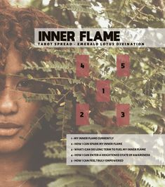 How do you honor your inner flame? This tarot spread will help you better understand your inner flame and what you can do to fuel your fire.