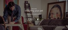 Check on your pet anytime, anywhere. #TheThingsWeCanDo