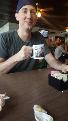 Me and my buddy go to the same restaurant weekly. We planted selfie mugs. Two weeks later they served him his mug.