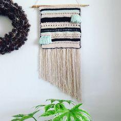 Wandhanger macramé gehaakt | wall hanging crochet