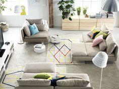 SODERHAMN zitbank | #IKEA #bank #woonkamer #interieur