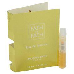 Fath De Fath Vial (sample) By Jacques Fath