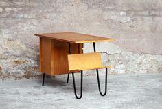 """Variante de la """"Multitable"""", 1958, Jacques Hitier. Édition Multiplex. Credenza, Cabinet, Storage, Artwork, Table, Design, Furniture, Home Decor, Vintage Office"""